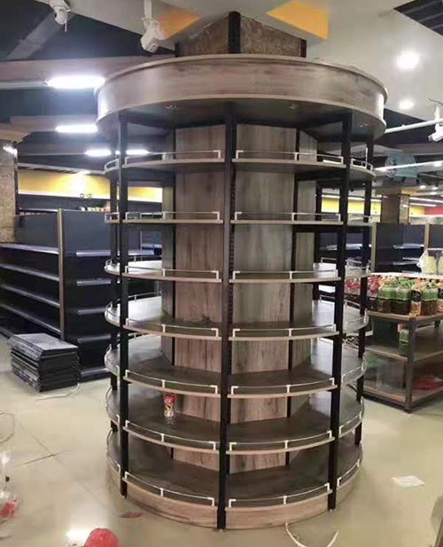 包柱子貨架