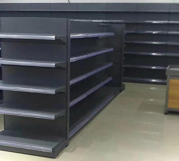 鄭州市西四環金采生鮮超市貨架案例