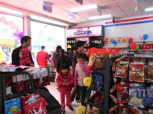 想开一家便利店都需要买什么样的便利店货架