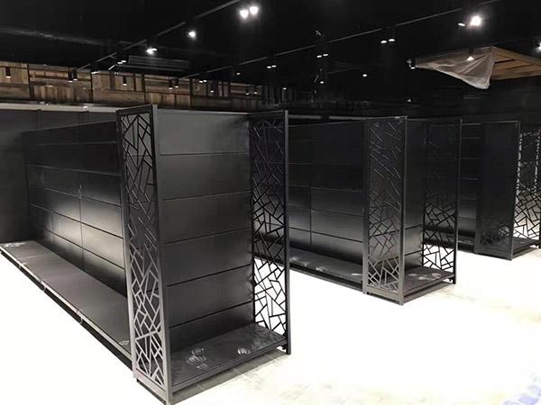開封蘭考縣新時代購物廣場商超貨架案例