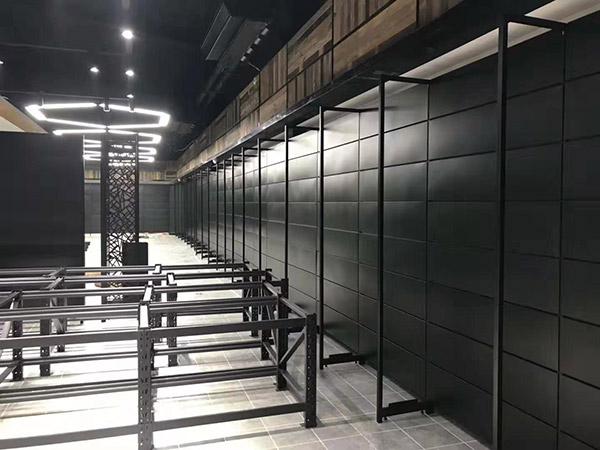 開封蘭考縣新時代購物廣場單麵超市貨架