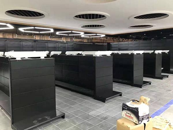 開封蘭考縣新時代購物廣場雙麵超市貨架