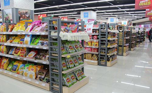 为什么精品便利店最适合选择钢木结合货架