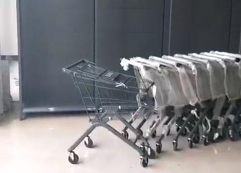商丘十足便利店貨架安裝完畢案例