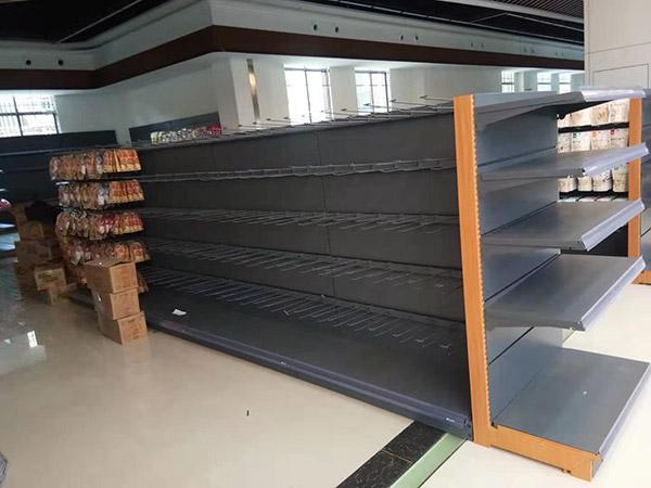 周口西華縣太平洋潤發購物廣場雙麵安辰式貨架