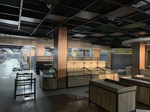 南阳唐河广隆购物广场货架