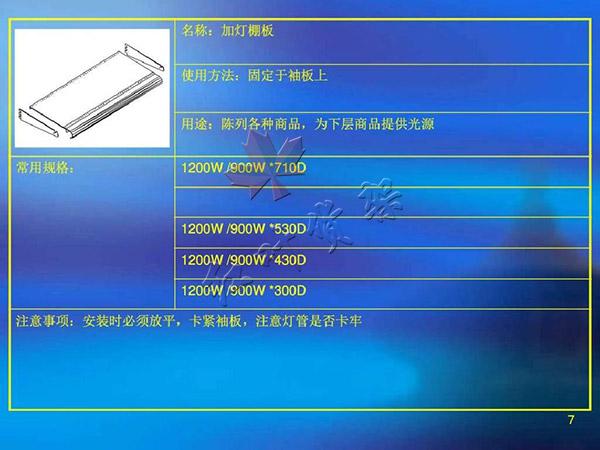 加燈棚板尺寸使用方法以及用途