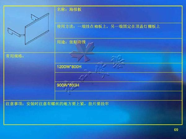 海報板尺寸使用方法以及用途