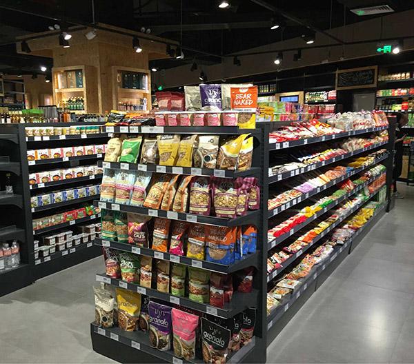 超市便利店,貨架到底是橫排好還是豎排好