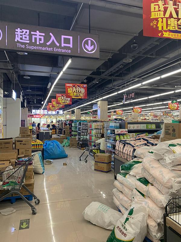鄭州西域圣亞超市貨架案例