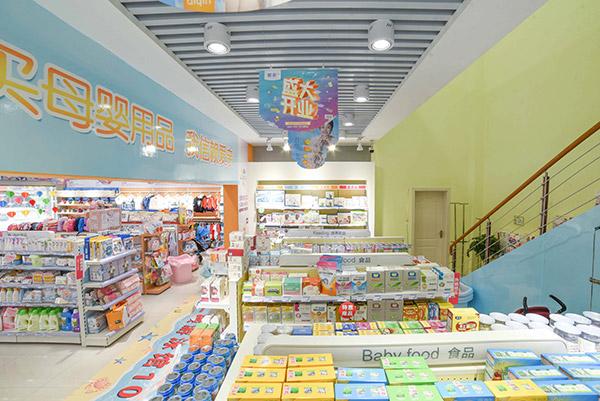 選擇合適的母嬰店貨架需要注意哪幾點?