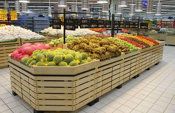 淺談超市木製品貨架作用優勢以及注意事項