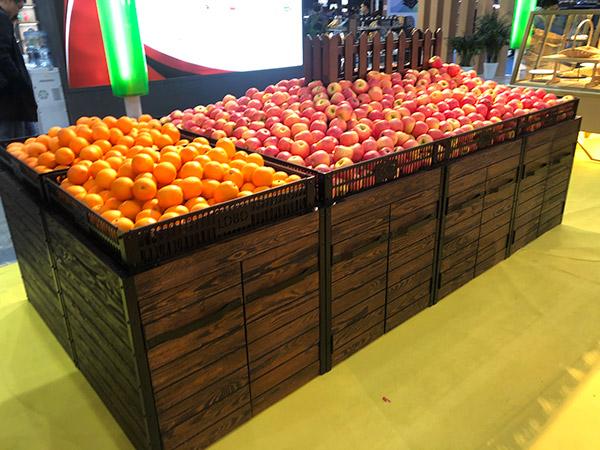 複古式蔬菜水果貨架