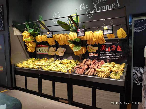 單麵靠牆蔬果架