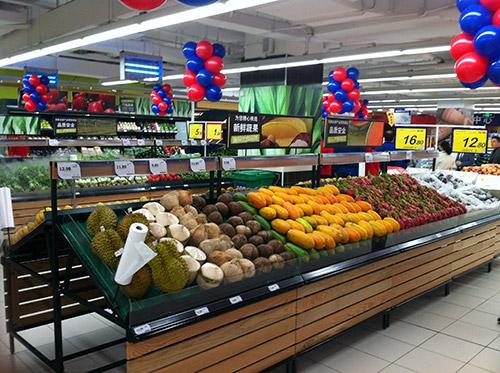 生鲜超市货架上的物品如何摆放效果好