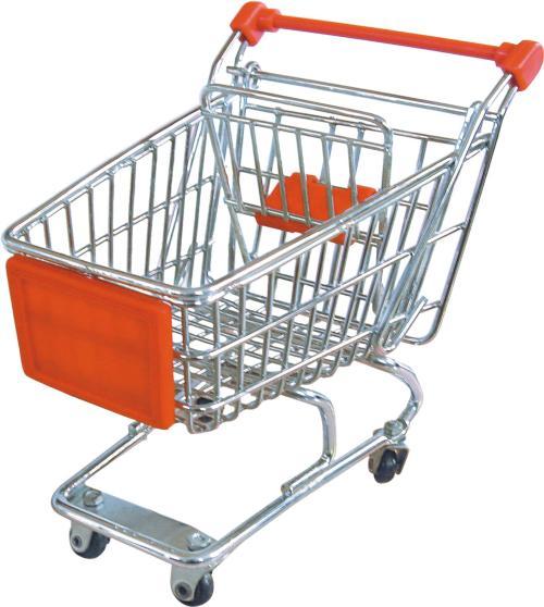 超市用的购物车都有哪些款式?