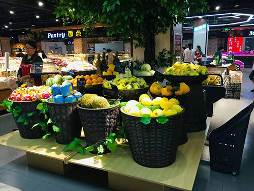 超市蔬菜水果货架哪种最实用