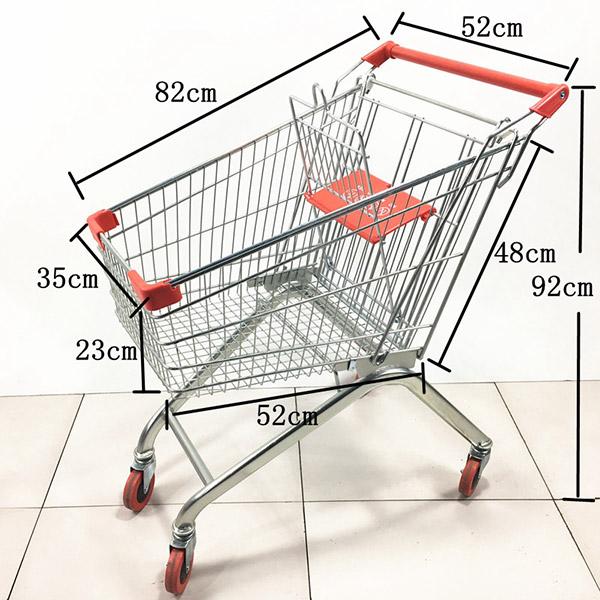 2020款80L超市手推車購物車