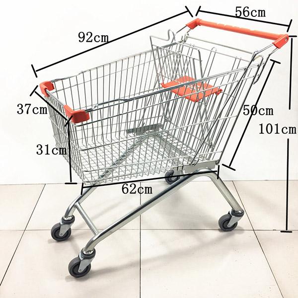 2020款125L超市手推車購物車