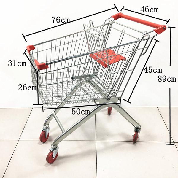 超市用的購物車款式尺寸都有哪些