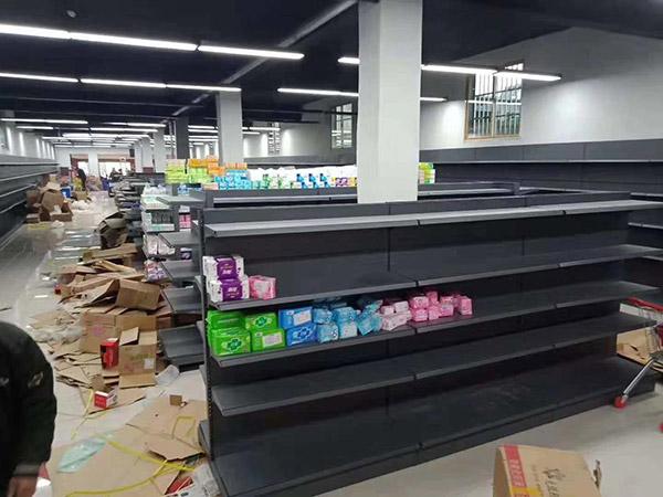 超市雙面貨架