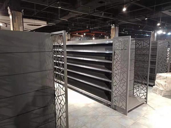 雙面造型超市貨架