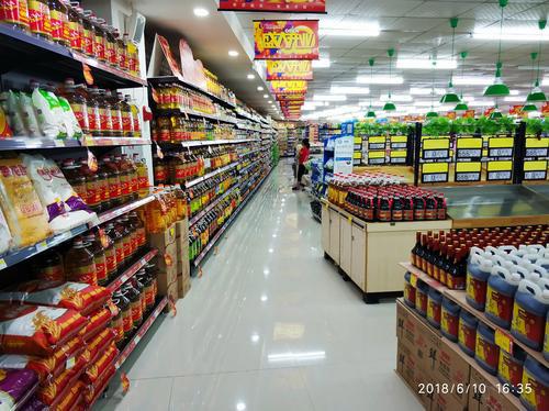小超市货架之间走路间距多少才能满足消防要求