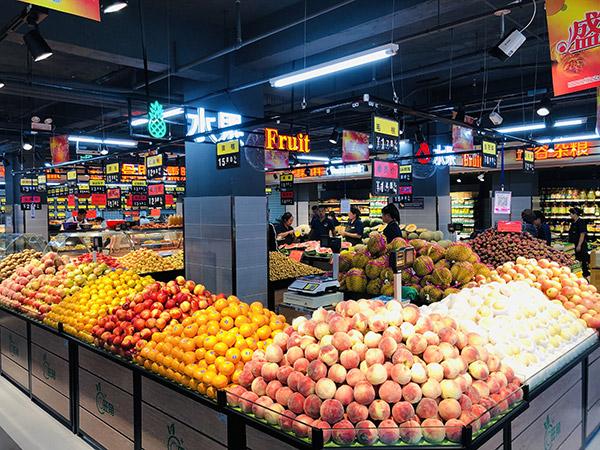 蔬菜水果貨架是平底的好還是放筐的好