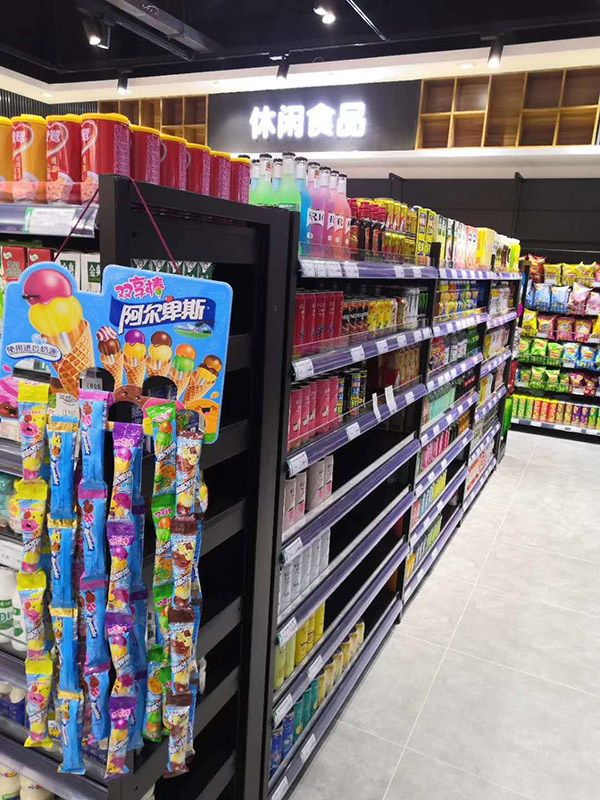 超市貨架端架