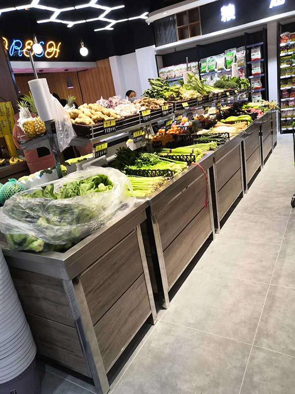 永輝款蔬菜水果貨架