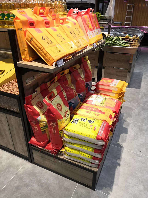 超市鋼木堆頭