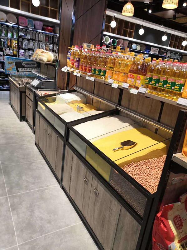 鋼木米糧柜