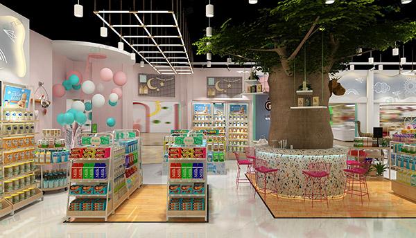 母嬰店設計和擺放貨架的技巧是什麽