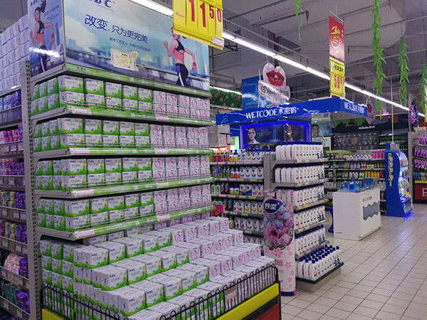 超市货架什么位置是最佳陈列位置