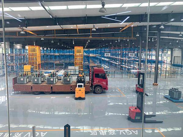 河南某變壓器廠AGV項目案例