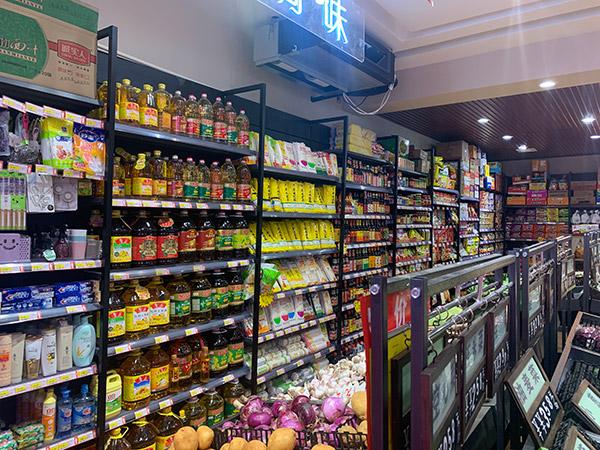單麵超市貨架案例