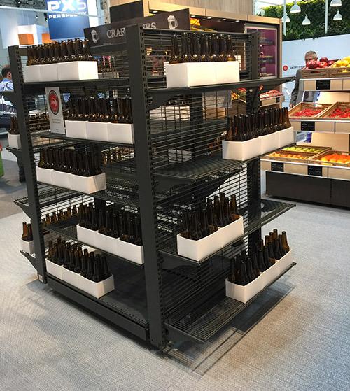 进口食品货架酒类