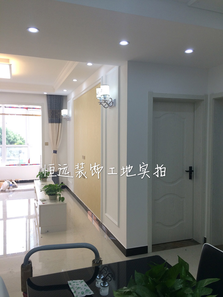 燕山路旭峰佳苑两室现代风格