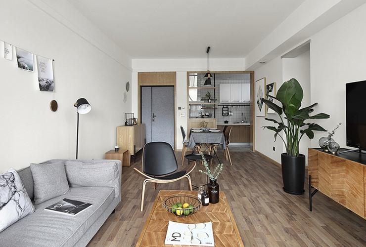 [住宅]北欧式大坪住宅装修设计