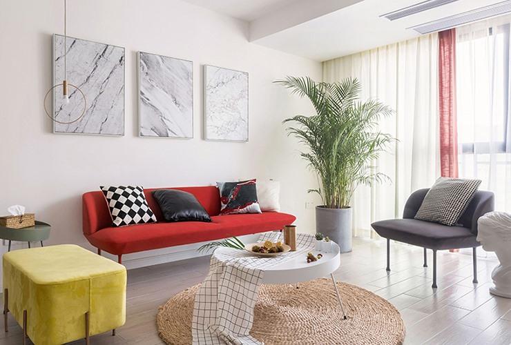 [住宅]北欧式家居住宅装修设计