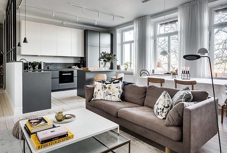 [别墅]北欧式别墅装修设计