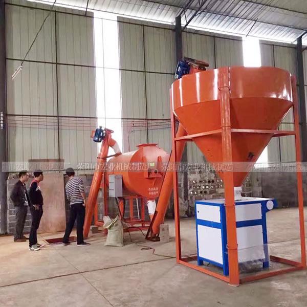 广州小型砂浆王生产线